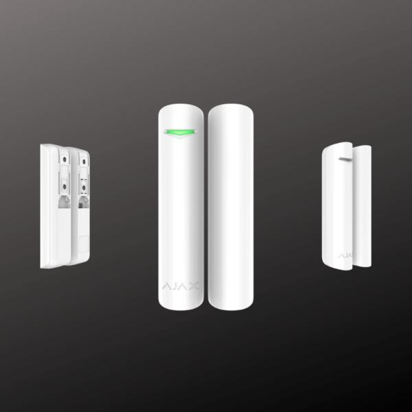 Датчик відчинення Ajax DoorProtect plus білого кольору