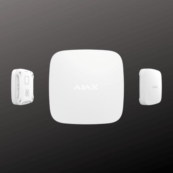 Датчик затоплення ajax leaksprotect білий