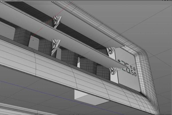 Внутрішній блок мульти-спліт системи Haier - схема