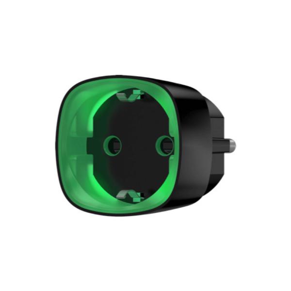 Розумна розетка ajax socket чорна