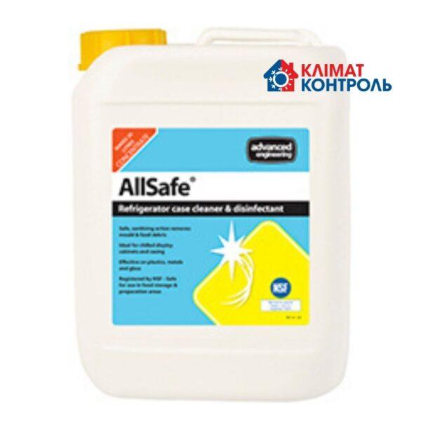 allsafe - миючий та дезінфікуючий засіб для кондиціонерів
