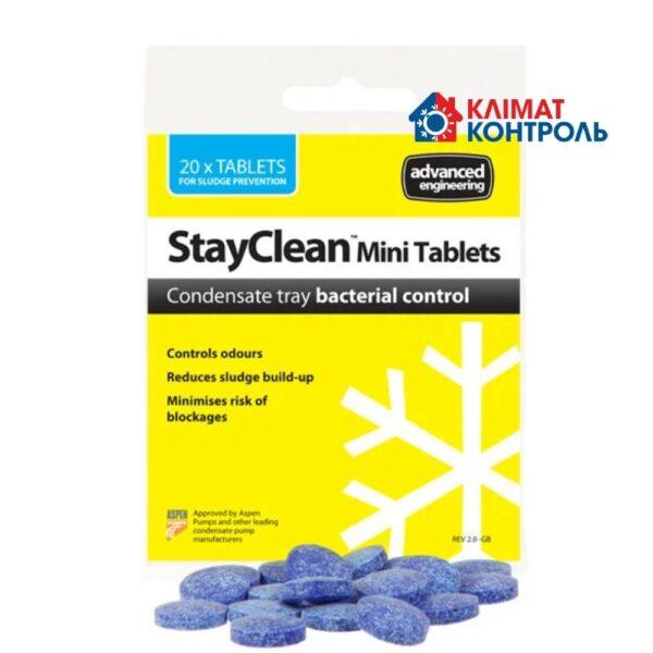 StayClean MiniTablets - Очищуючі і дезінфікуючі таблетки